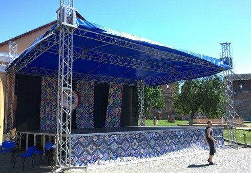 Департамент Луцькради витратить понад 100 тисяч гривень на оренду сцени