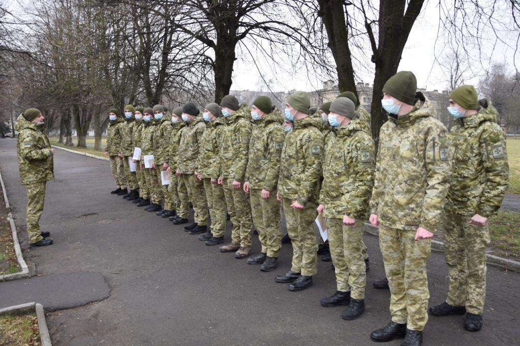 Курсанти прикордонного вишу завершили стажування у Луцькому загоні