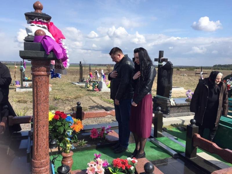 На Волині вшанували пам'ять двох загиблих на Донбасі бійців