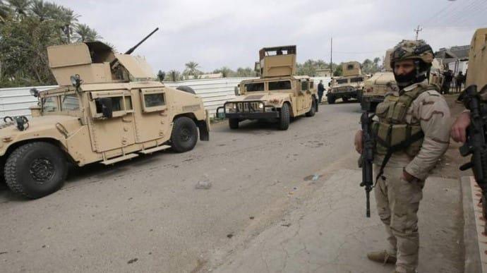 В Іраку біля авіабази з американськими військовими впали дві ракети