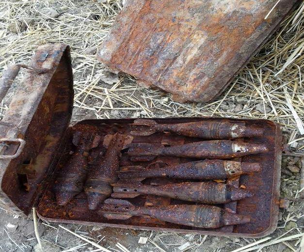 На Волині знешкодили 15 боєприпасів часів минулих воєн