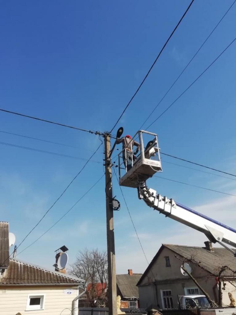 У Ківерцях розпочали поточний ремонт вуличного освітлення