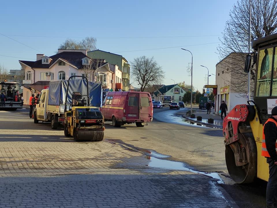 У Володимирі-Волинському – обмежений рух вулицею через ремонт