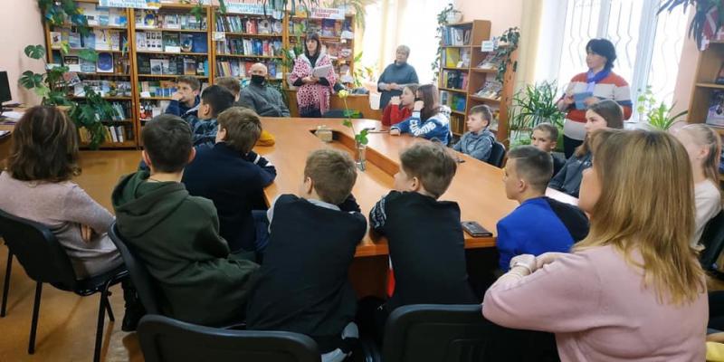 У Ківерцях для учнів організували урок-реквієм про Чорнобиль