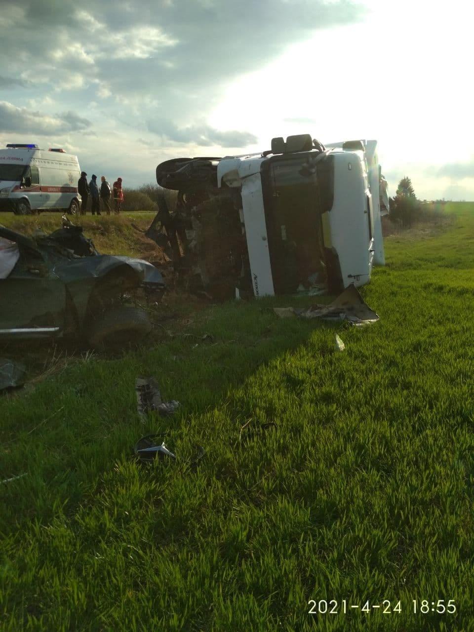 На Волині у ДТП загинули троє пасажирів, двоє з них — діти