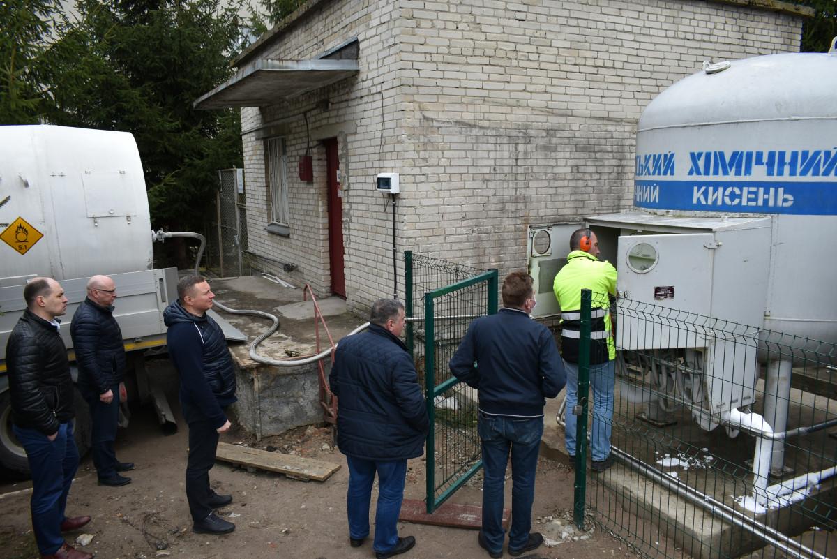 У ковідні лікарні Луцька відновили постачання стаціонарного кисню