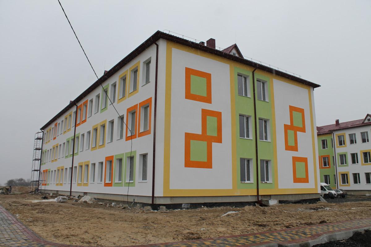 Будівельна готовність – понад 60 %: у селі на Волині триває будівництво школи