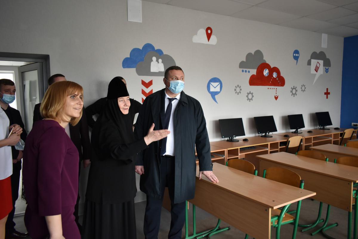 У селі на Волині капітально відремонтували школу