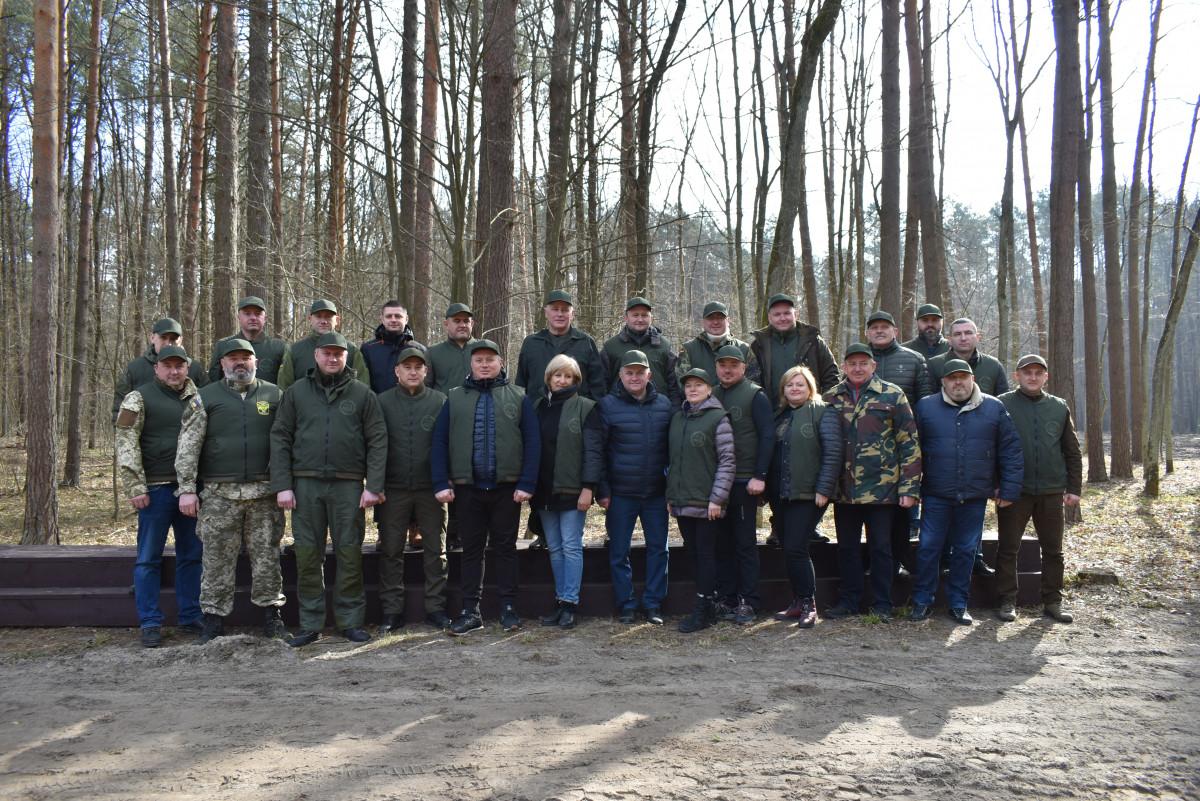 Керівництво Волинської ОДА долучилося до Всеукраїнської акції «Створюємо ліси разом»