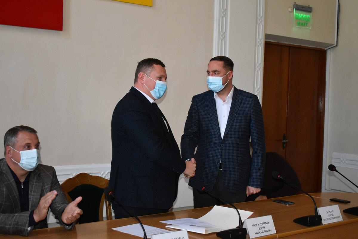 Представили новопризначеного голову Володимир-Волинської РДА