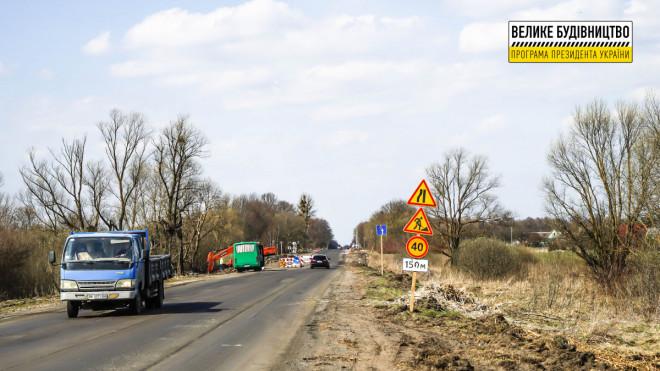 На Волині капітально ремонтують міжнародний автошлях