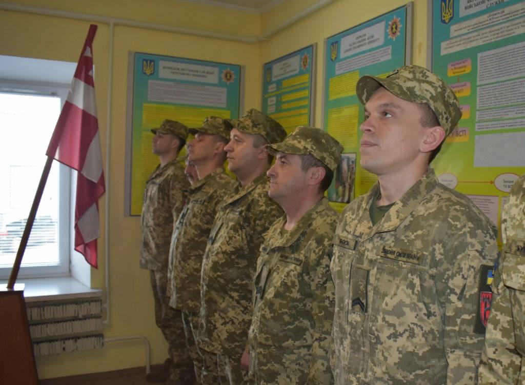 На Волині вручили відзнаки представникам Військової служби правопорядку у Збройних Силах України