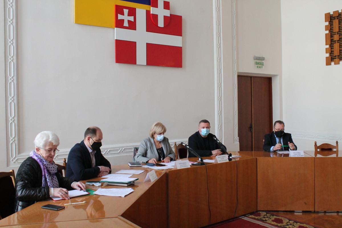 У Луцьку засідала Госпітальна рада при Волинській ОДА