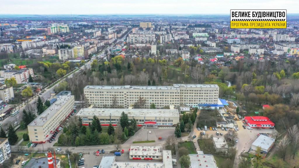 У Луцьку триває реконструкція приймального відділення міської клінічної лікарні