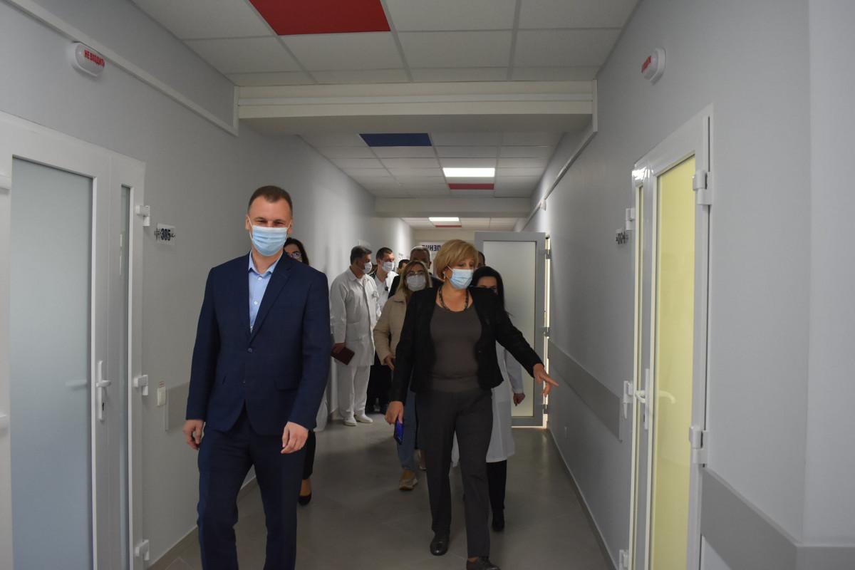 У Володимир-Волинській лікарні оновили терапевтичне відділення