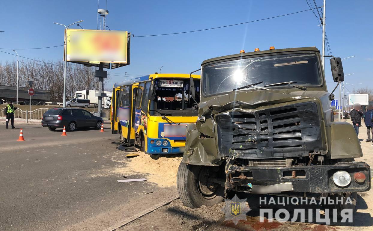 Водію маршрутки, через дії якого у ДТП на вулиці Ківерцівській у Луцьку постраждали пасажири,  повідомили про підозру