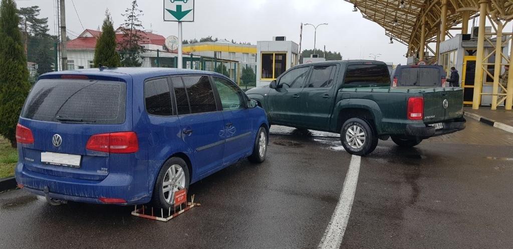 У «Ягодині» виявили авто, викрадене в Німеччині сім років тому