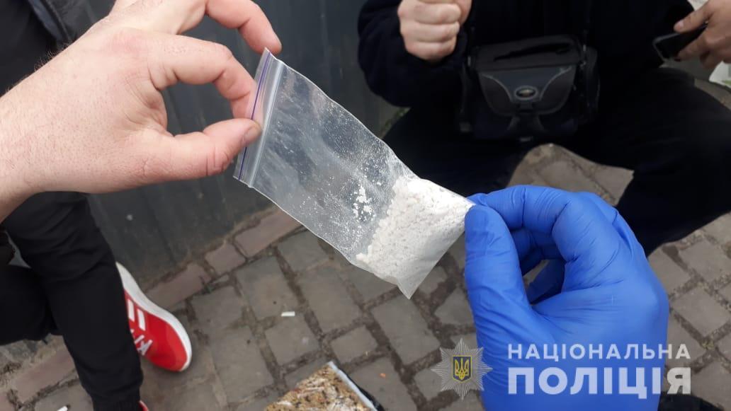 У Нововолинську поліцейські вилучили амфетамін на понад 10 тисяч гривень