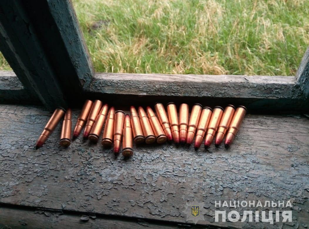 На Волині правоохоронці вилучили зброю та боєприпаси