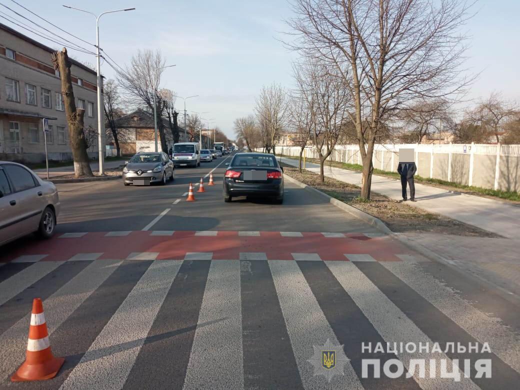 У Луцьку встановлюють обставини ДТП на вулиці Ківерцівській