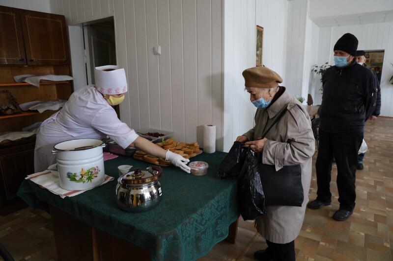 У Луцьку запрацювала відремонтована їдальня Територіального центру соціального обслуговування