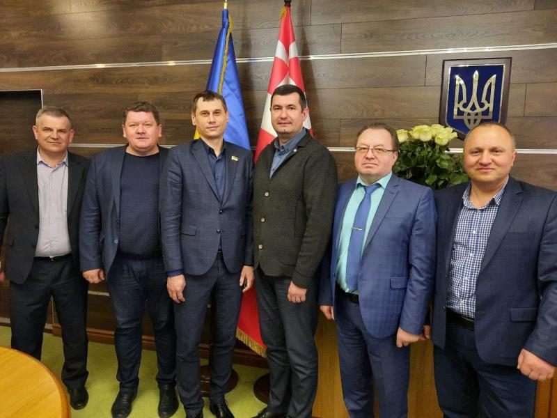 На Волинь з робочим візитом прибула делегація Рівненської облради