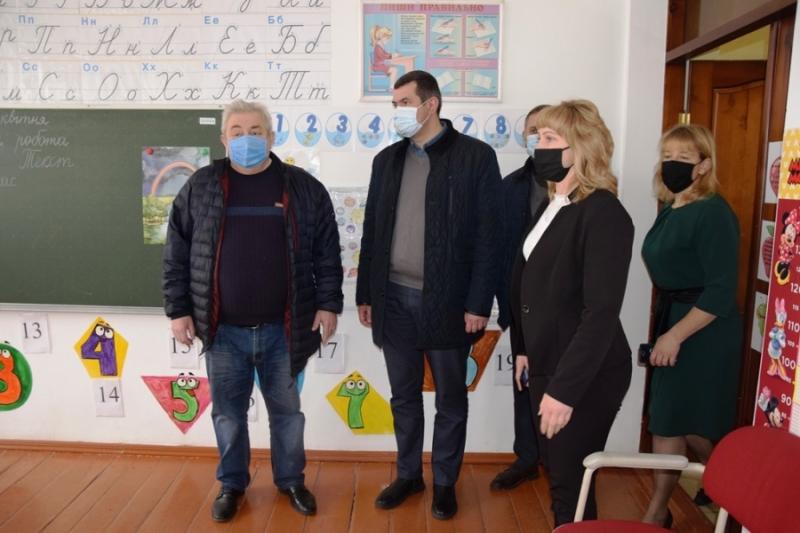 Делегація Волиньради проінспектувала Головненську спеціальну школу