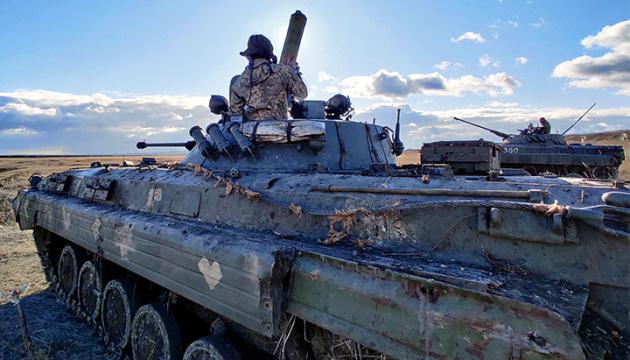 Російські окупанти 18 разів порушили «тишу», поранений боєць ООС