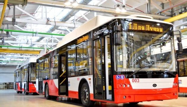 Тролейбуси за маршрутом № 3а обслуговуватимуть лучан на Великодні свята