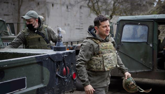 Зеленський заявив, що Україна готова до російського вторгнення