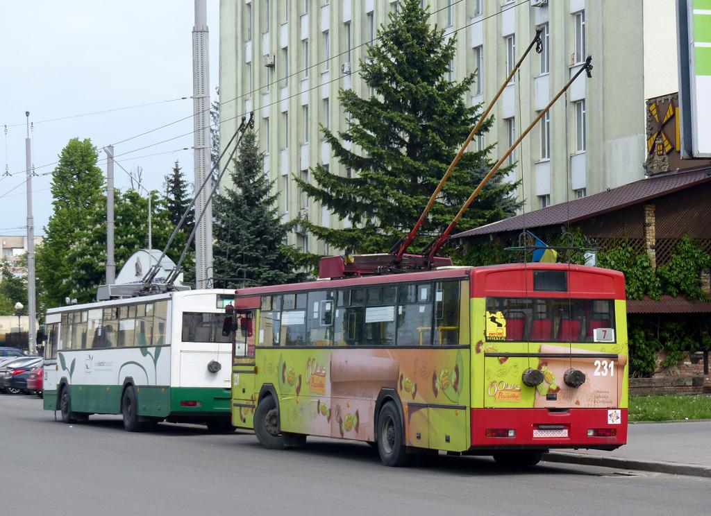 У Луцьку пропонують відновити тролейбусний маршрут № 7