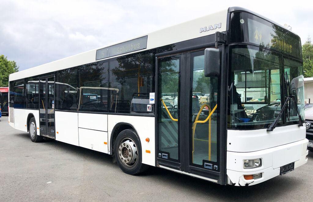 На міських маршрутах у Луцьку курсуватимуть автобуси «MAN A21»