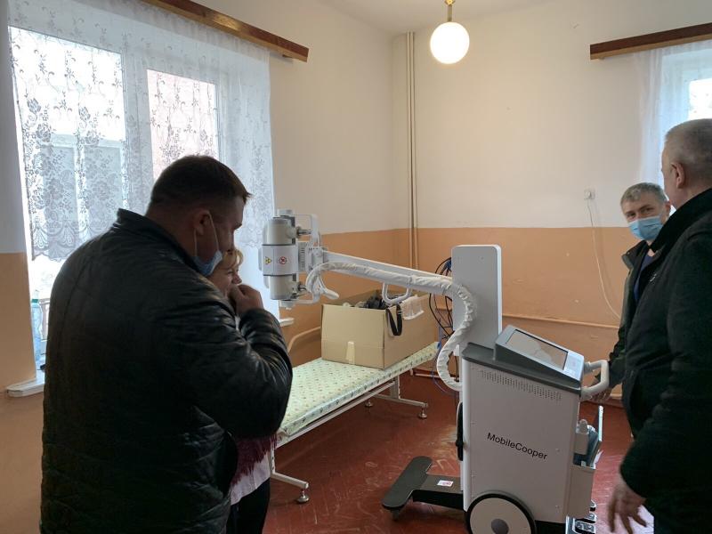 Ківерцівська лікарня придбала новий рентген-апарат