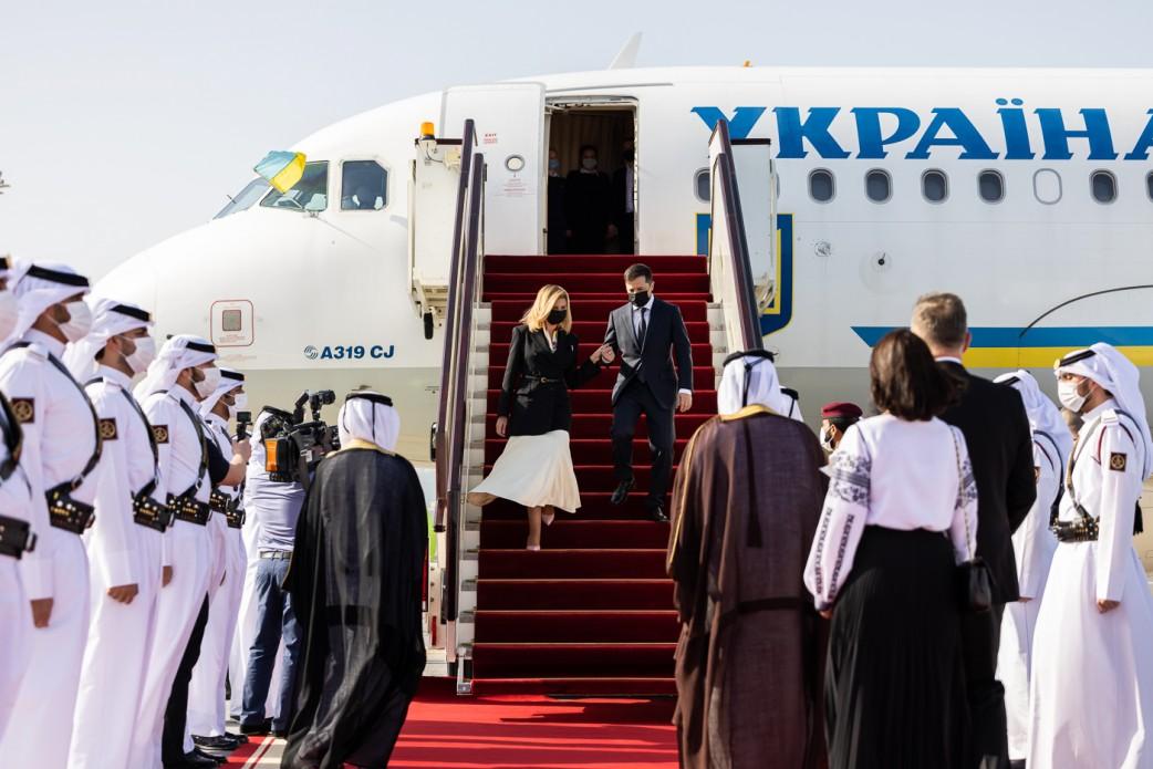 Зеленський розраховує на інвестиції Катару у технології, інфраструктуру та аграрну сферу
