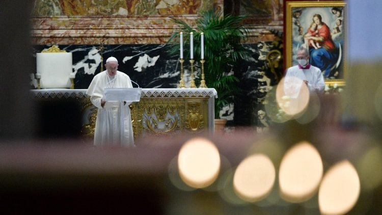 У великодньому посланні Папа Франциск згадав полонених внаслідок конфлікту на сході України