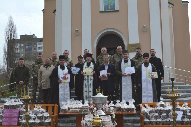 У Ковелі до Великодня зібрали дарунки захисникам України