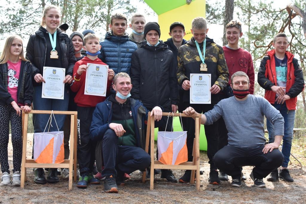 Орієнтувальники з Луцька – чемпіони Волині зі спортивного орієнтування