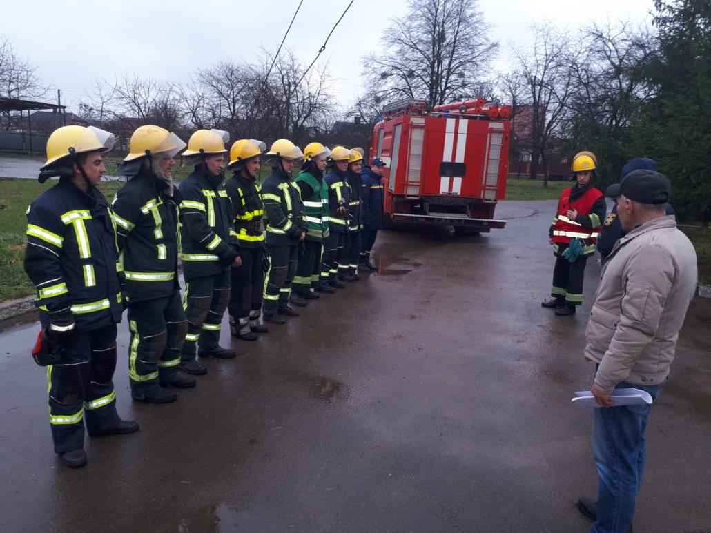 Пожежа в котельні: у Нововолинську організували навчання екстрених служб міста