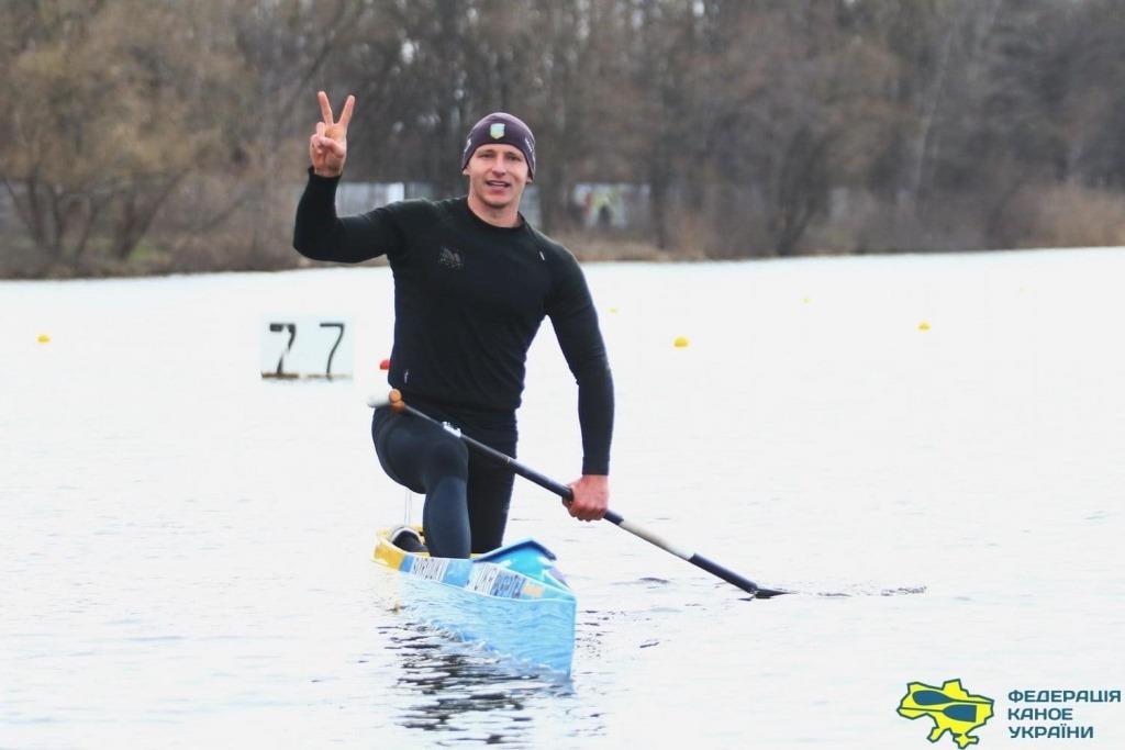 Ковельчанин став срібним призером Кубку України з веслування на байдарках та каное