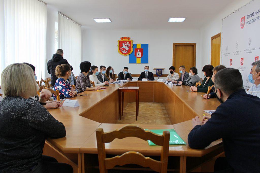Визначили переможців конкурсів на заміщення посад у Володимир-Волинській міськраді