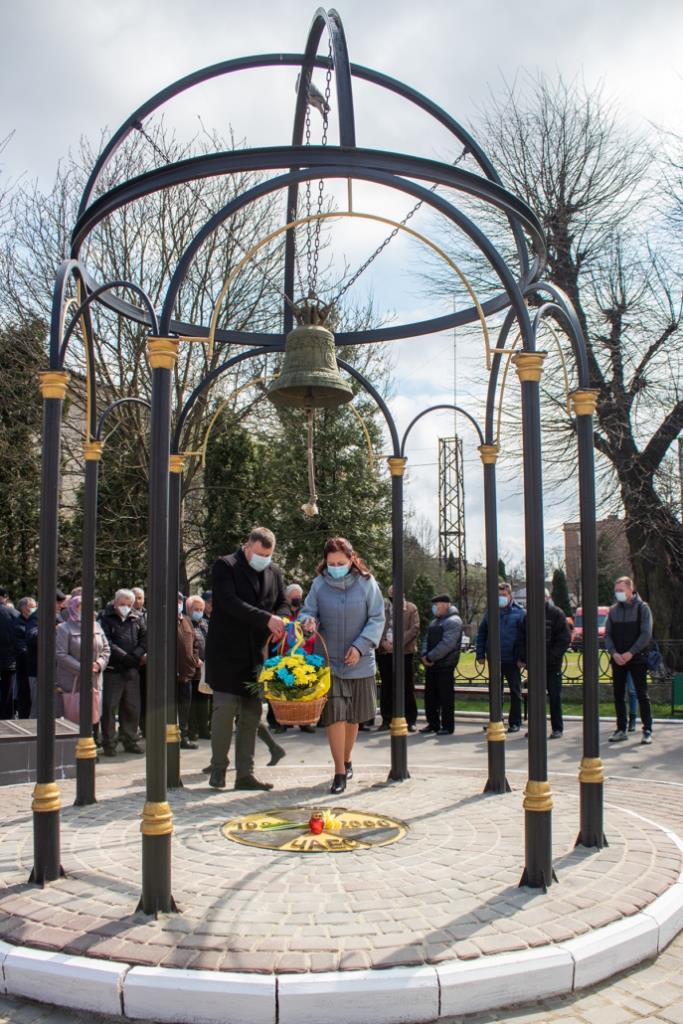 У Нововолинську відзначили 35-ті роковини Чорнобильської катастрофи