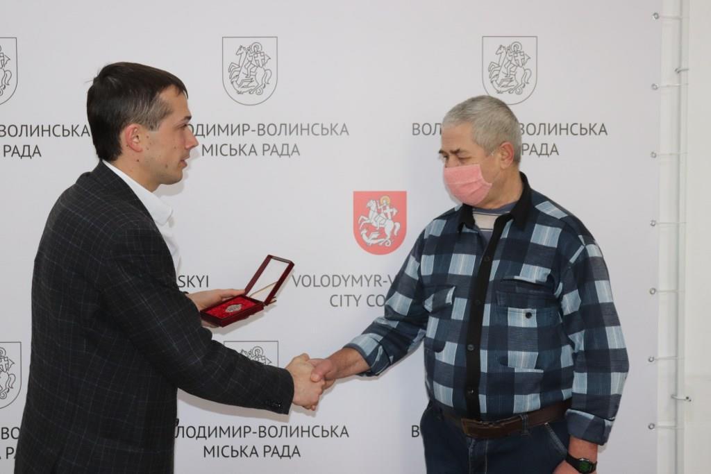 Володимирчанин отримав нагороду «Заслужений донор України»