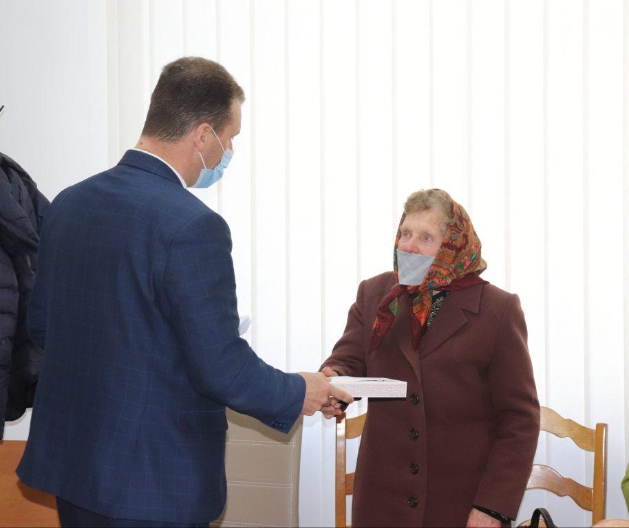 У Володимирі відзначили вдів ліквідаторів аварії на ЧАЕС