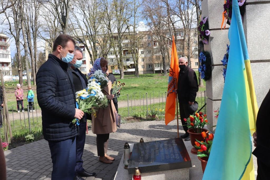 Чорнобильській трагедії 35 років: у Володимирі-Волинському організували пам'ятні заходи