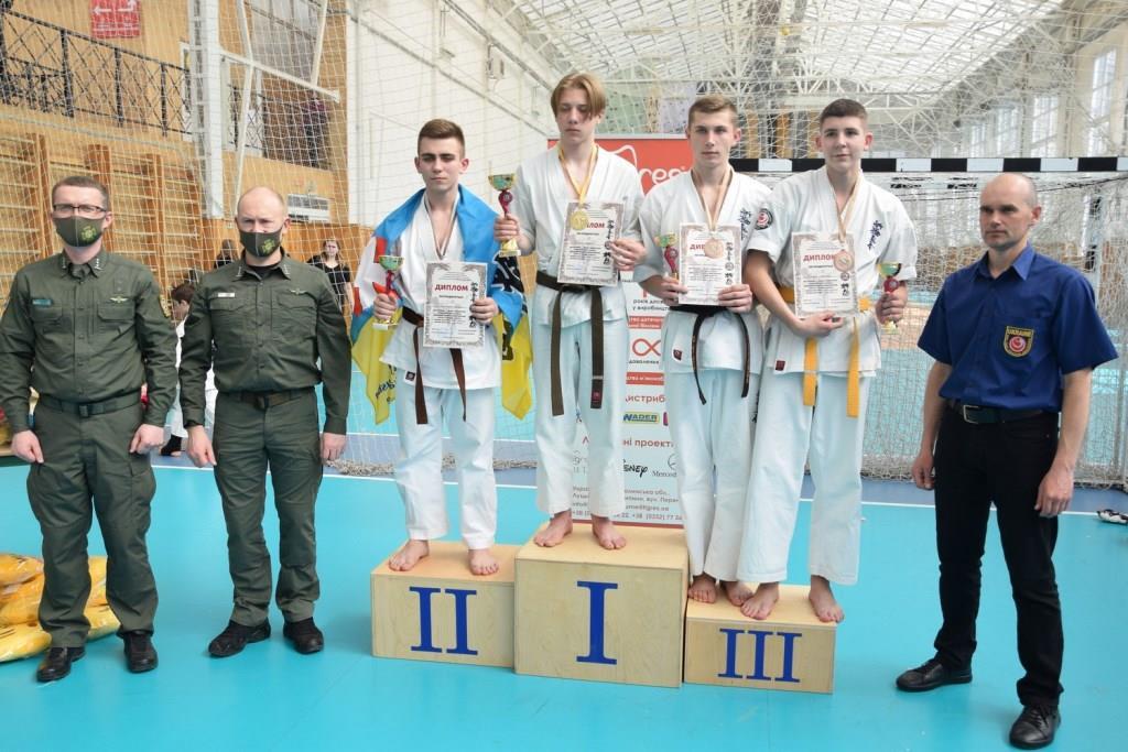 У Луцьку до Дня прикордонника відбувся відкритий чемпіонат з карате. ВІДЕО