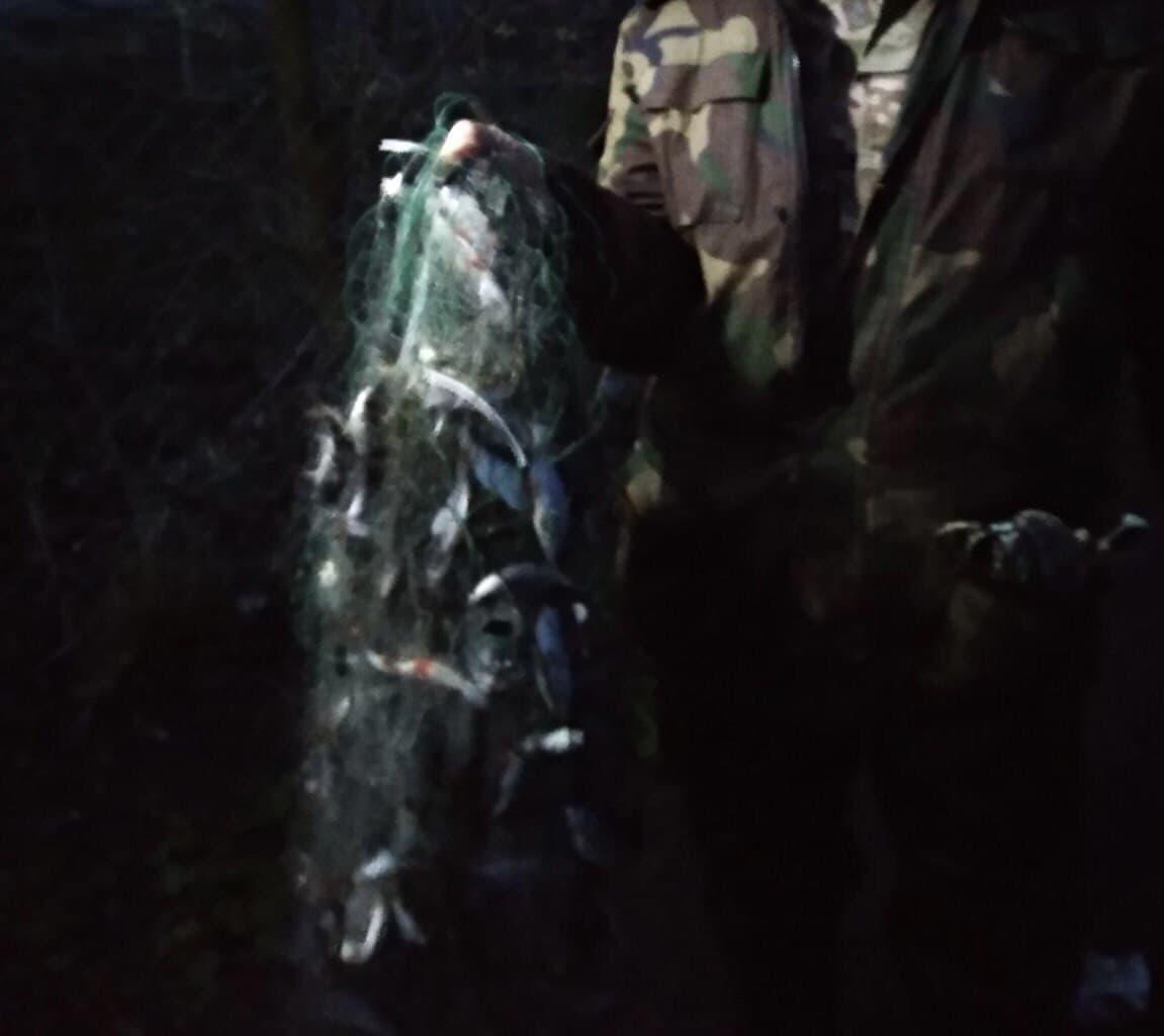 Оштрафували чотирьох волинян, які порушували правила рибальства