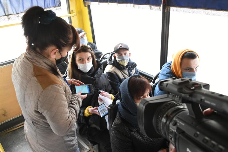 У Луцьку представники Укртрансбезпеки долучилися до контролю оплати проїзду