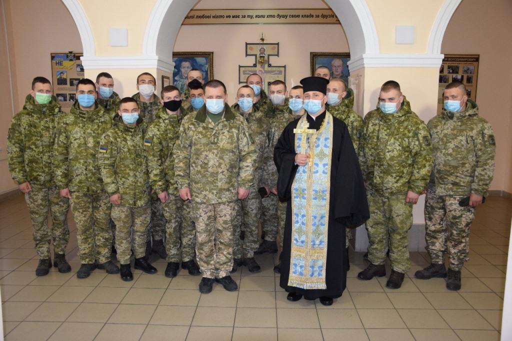 У Луцьку звільнили в запас ЗСУ першу партію строковиків-прикордонників