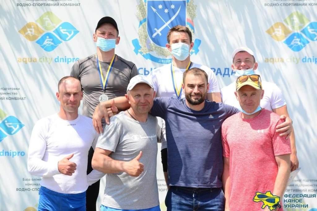 Волинські спортсмени – переможці чемпіонату України з веслування на байдарках і каное