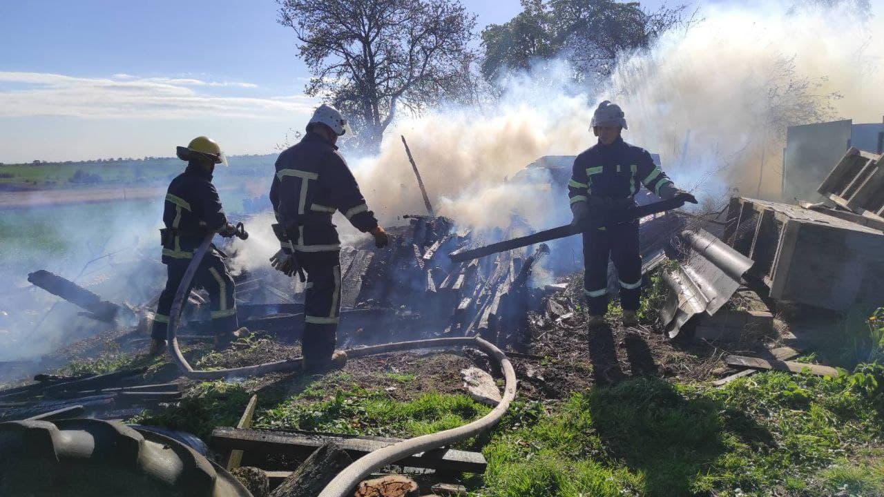 За добу на Волині ліквідували три пожежі у житловому секторі